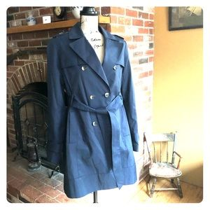 Tommy Hilfiger navy trench coat